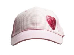 36 Units of Premiun Girls Hat With Assorted Designs - Baseball Caps & Snap Backs