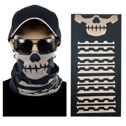20 Units of Skull Multi function Seamless Tube Bandana - Face Mask
