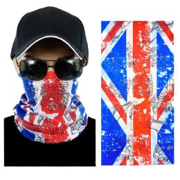 20 Units of UK Flag Multi Function Seamless Tube Bandana - Face Mask