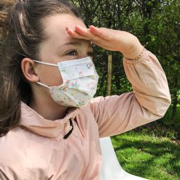 50 Units of Disposable Kids 3ply Printed Face Cover For Health Protection - PPE Mask