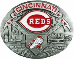 6 Units of Cincinnati Reds Belt Buckle - Belt Buckles
