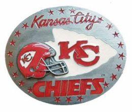 6 Units of Kansas City Chiefs Belt Buckle - Belt Buckles