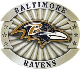 6 Units of Baltimore Ravens Belt Buckle - Belt Buckles