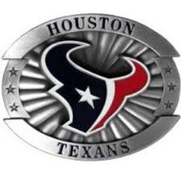 6 Units of Houston Texans Belt Buckle - Belt Buckles
