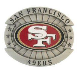 6 Units of San Francisco 49ers Belt Buckle - Belt Buckles