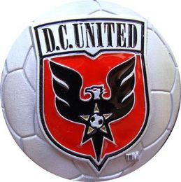 20 Units of DC United Soccer Belt Buckle - Belt Buckles