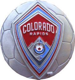 20 Units of Colorado Rapids Belt Buckle Soccer - Belt Buckles