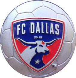 20 Units of FC Dallas Belt Buckle Soccer - Belt Buckles