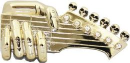 4 Units of Guitar Belt Buckle - Belt Buckles