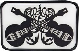 4 Units of Twin Guitars Belt Buckle - Belt Buckles