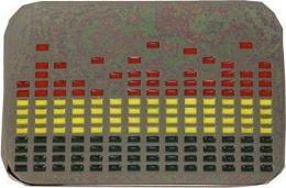 4 Units of Music Equalizer Belt Buckle - Belt Buckles