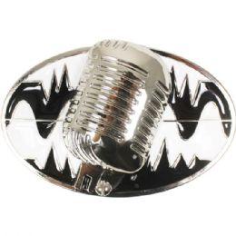 4 Units of Old School Microphone Belt Buckle - Belt Buckles