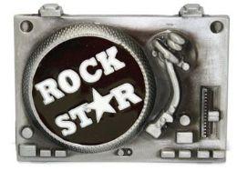 4 Units of Rock Star Belt Buckle - Belt Buckles