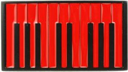 12 Units of Piano Belt Buckle - Belt Buckles