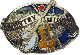 12 Units of Country Music Belt Buckle - Belt Buckles