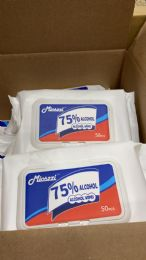 64 Units of Hand Wipes 50 ct Pack - PPE Sanitizer