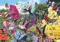 20 Units of 3d Picture 9757--Hummingbirds & Butterflies - Wall Decor