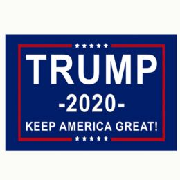 24 Units of Trump 2020 Keep America Great Flag - Signs & Flags