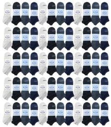 48 Units of Yacht & Smith Womens Light Weight No Show Ankle Socks Solid Assorted 4 Colors - Womens Ankle Sock
