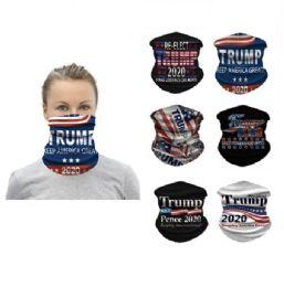24 Units of Trump Multi Functional Headgear Gaiter Buff - Face Mask