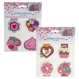 36 Units of Bookmark Magnetic Valentine - Valentine Decorations