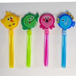 24 Units of Bubble Wand With Animal Clapper - Bubbles