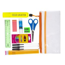 12 Units of Home School Supply Kit 18 Piece Distance Learning Kit - School Supply Kits