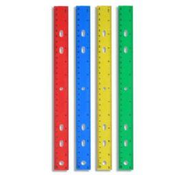 96 Units of Plastic 12 Inch Rulers - Rulers