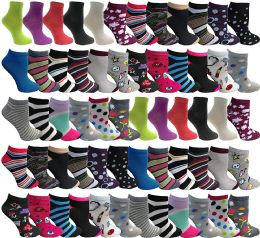 48 Units of Yacht & Smith Mens & Womens Thin Low Cut Ankle No Show Socks, Comfortable Lightweight Breathable Bulk Pack Wholesale - Womens Ankle Sock