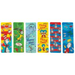48 Units of Dr. Seuss SavE-A-Page Bookmarks - Books
