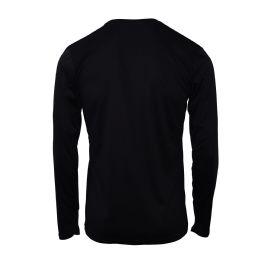 60 Units of Mens Base Layer Crew Neck Long Sleeve Shirt In Black - Mens Sweat Shirt