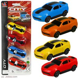12 Units of 4 Pc Sports Cars Sets - Cars, Planes, Trains & Bikes