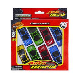 72 Units of Auto World DiE-Cast Cars - 8 Piece Set - Cars, Planes, Trains & Bikes