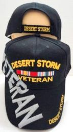 12 Units of Desert Storm Veteran Hat - Baseball Caps & Snap Backs