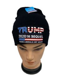 "24 Units of Trump 2020 THE SEQUEL ""Make Liberals Cry Again"" - Winter Beanie Hats"