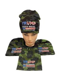 "24 Units of Trump 2020 THE SEQUEL ""Make Liberals Cry Again"" Camo - Winter Beanie Hats"