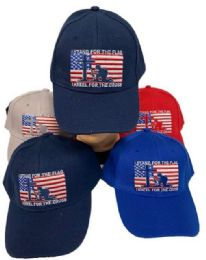 24 Units of Wholesale I Stand for The Flag and Kneel for The Cross - Baseball Caps & Snap Backs