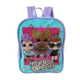 "24 Units of 15"" Kids LOL Wholesale Backpacks - Backpacks 15"" or Less"