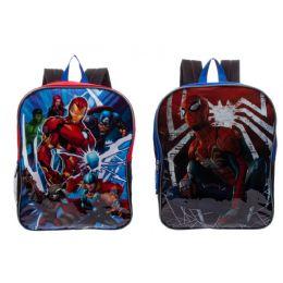 "24 Units of 15"" Kids Marvel Wholesale Backpacks - Backpacks 15"" or Less"