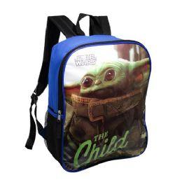 "24 Units of 15"" Kids Yoda Wholesale Backpacks - Backpacks 15"" or Less"
