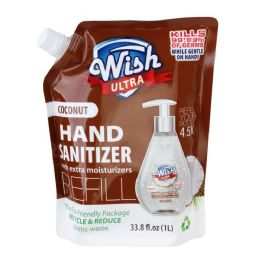 10 Units of Wish Advanced Hand Sanitizer 1 Liter Refill - PPE Sanitizer