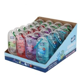 48 Units of Wish Advanced Bulk Hand Sanitizer 1.8 oz with Key Clip in Assorted Scents - Hand Sanitizer