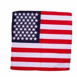 96 Units of Bandanas American Flag - Bandanas