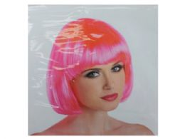 12 Units of Pink Cabaret Wig - Hair Accessories