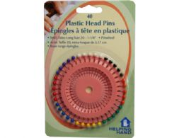 72 Units of helping hands 40 pack plastic head pins - Push Pins and Tacks
