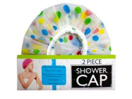 36 Units of 2 piece shower cap w/balloon design - Balloons & Balloon Holder