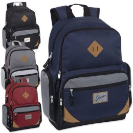 "24 Units of Trailmaker 19 Inch Duo Compartment Backpack Boys - Backpacks 18"" or Larger"