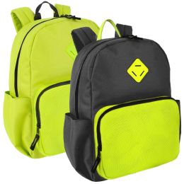 24 Units of Premium Neon Pop Backpack - Backpacks 17""