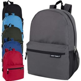 "24 Units of High Trails 19 Inch Backpack With Side Mesh Pocket - Backpacks 18"" or Larger"