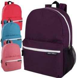 "24 Units of High Trails 19 Inch Backpack With Side Mesh Pocket Girls - Backpacks 18"" or Larger"